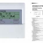 Manual de usuario y técnico del termostato PAR-21MAA de Mitsubishi Electric aire acondicionado