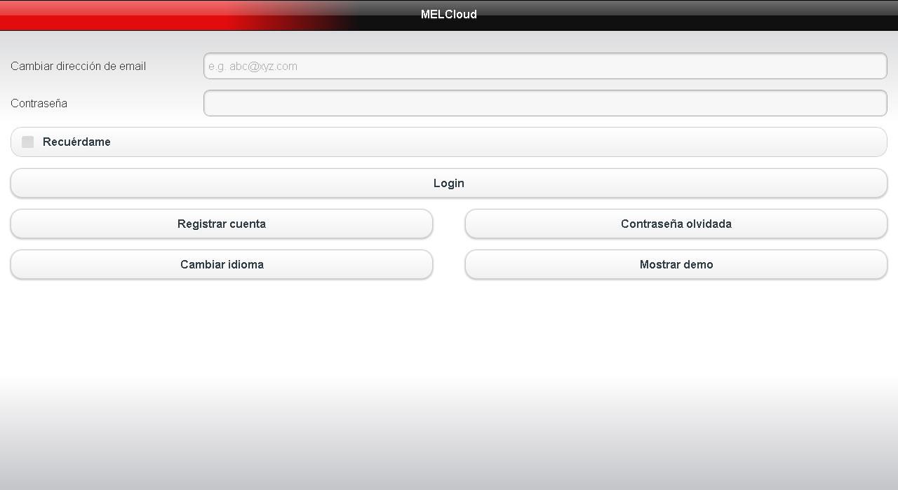 Pagina web de registro