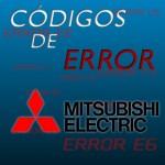 Códigos de error Mitsubishi Electric