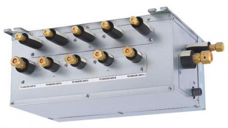 Los Branch boxes son necesarios para instalaciones de unidades aire acondicionado multisplit 8X1
