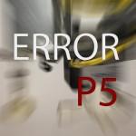 ERROR P5